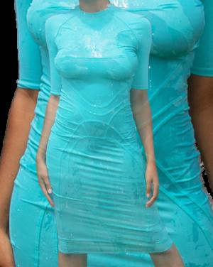 WIND-GLIDER DRESS